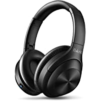 iTeknic Over Ear Active Noise Cancelling Bluetooth Headphones With Mic