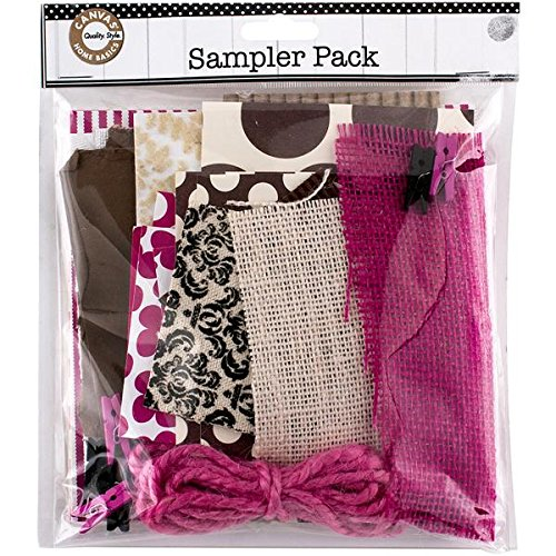- Canvas Corp Sampler Pack, 0.25-Pound, Pink