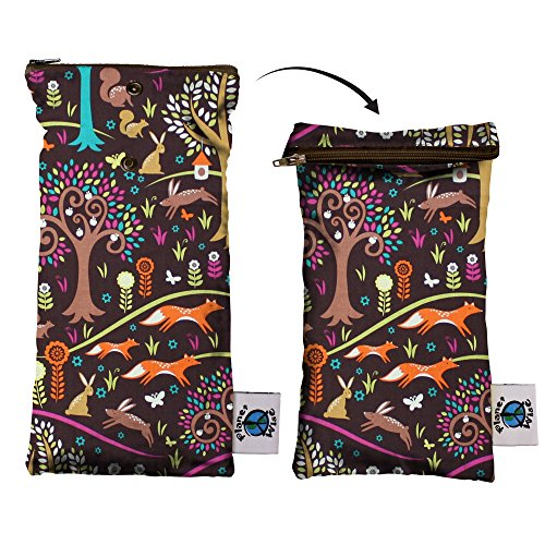 (Planet Wise Wipe Pouch, Jewel Woods, Made in the USA)