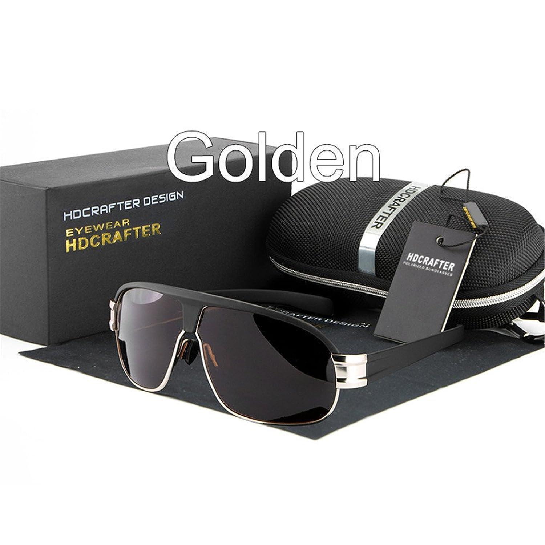 Lnabni Polarisiert Outdoor Sports Sonnenbrille Herren Gro?e Rahmen Gl?ser UV 400