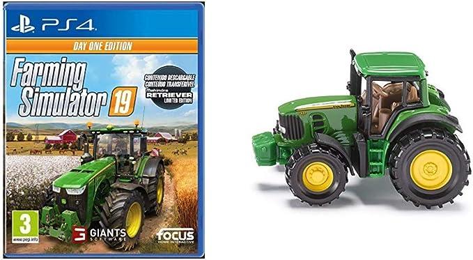 Farming Simulator 19 Day One Edition (PlayStation 4) + Tractor ...