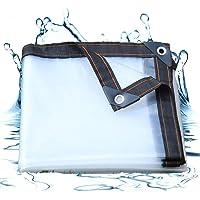 Lonas Impermeables Exterior Transparente, Lona Impermeable Pergola, Extremadamente Resistente de Techado, para…
