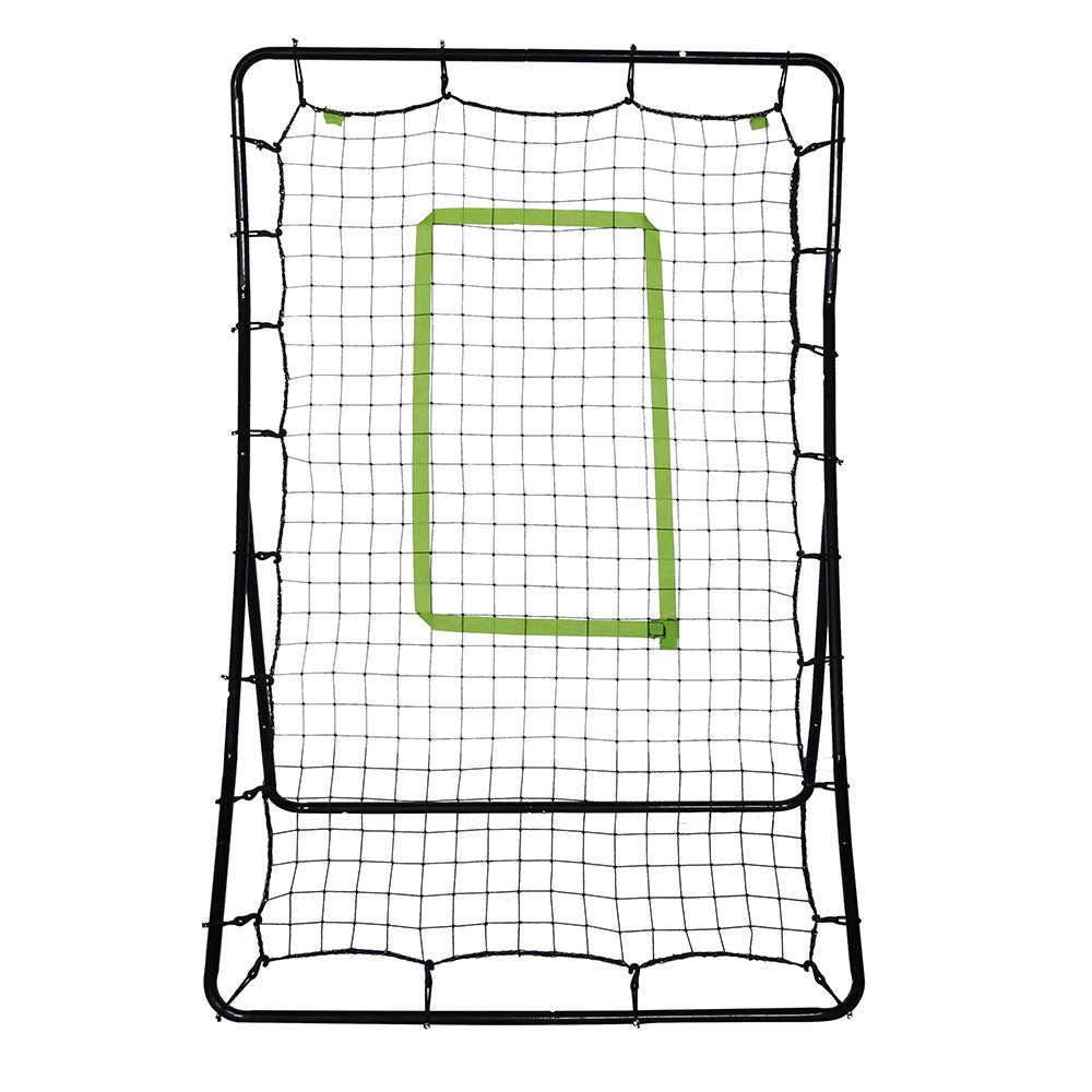 POCHDUDY Baseball Softball Soccer Rebounder, Baseball Train Net Rack Rebound Goal Adjustable Angle Multi-Sport Trainer Ideal for Team and Solo Training by POCHDUDY