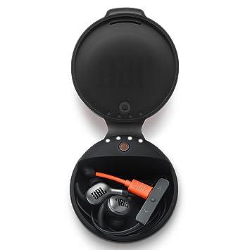 JBL Auriculares Estuche de Carga para inalámbrico Bluetooth Auriculares in-Ear – Negro