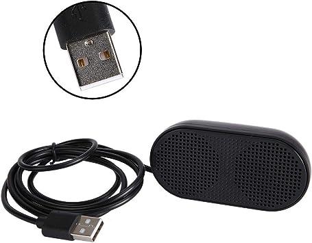 Aufee Caja de Sonido, Altavoz para computadora Plug and Play, Doble bocina Compatibilidad Fuerte para Ver películas Escuchar música Jugar Juegos(Black): Amazon.es: Electrónica