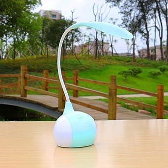 Lámpara de mesa LED táctil de tres velocidades con atenuación de ...