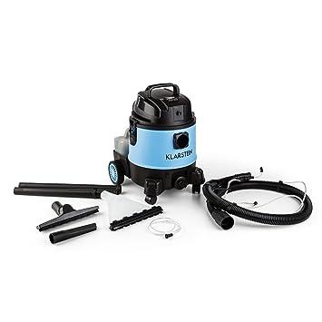 Klarstein Reinraum 2G aspiradora 3 en 1 (20 l, 1250 W, aspiración Seca y húmeda, aplicación detergente, Cepillo Combinado) - Azul