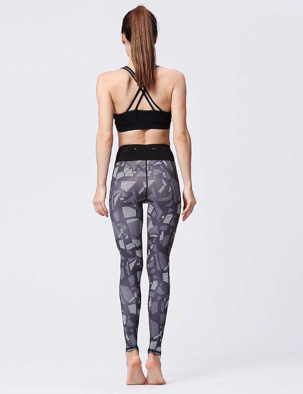 Mujeres Activo Atl/ético Gimnasio Deportes Aptitud Pantalones besbomig 3D Impresi/ón Corriendo Yoga Polainas Pantalones Tramo Rutina de Ejercicio Medias