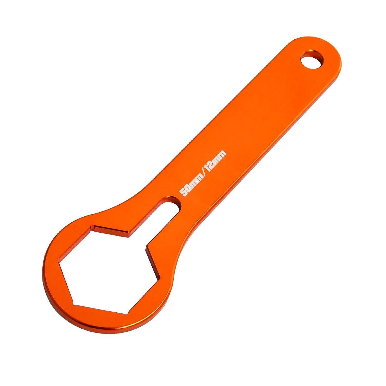 Llave para tapa de horquilla WP de 50 mm para KTM 125 150 250 350 ...