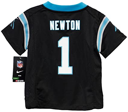 newest ebf2d 74fbb Cam Newton Carolina Panthers Toddler Game Home Jersey - Black