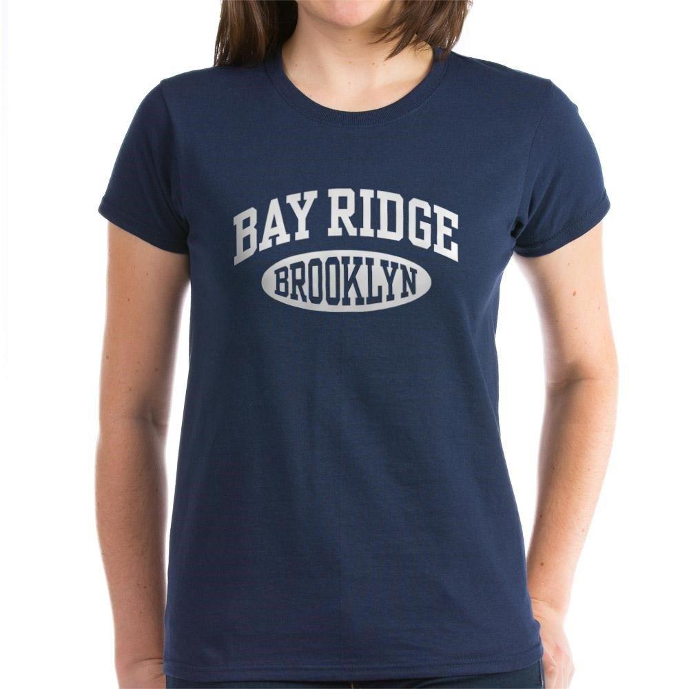61e43886f Amazon.com: CafePress Bay Ridge Brooklyn - Womens Cotton T-Shirt: Clothing