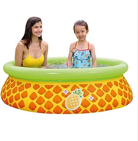 HAJKSDS Piscina Hinchable, Piscinas Desmontables Piscina para Niños, Piscina Hinchable Rectangular Family Lounge Pool Engrosada, Piscina Familiar En Verano 150 * 41Cm: Amazon.es: Jardín