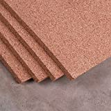 Natural Cork Sheet 4' x 24' x 1/2'' - Thickest available