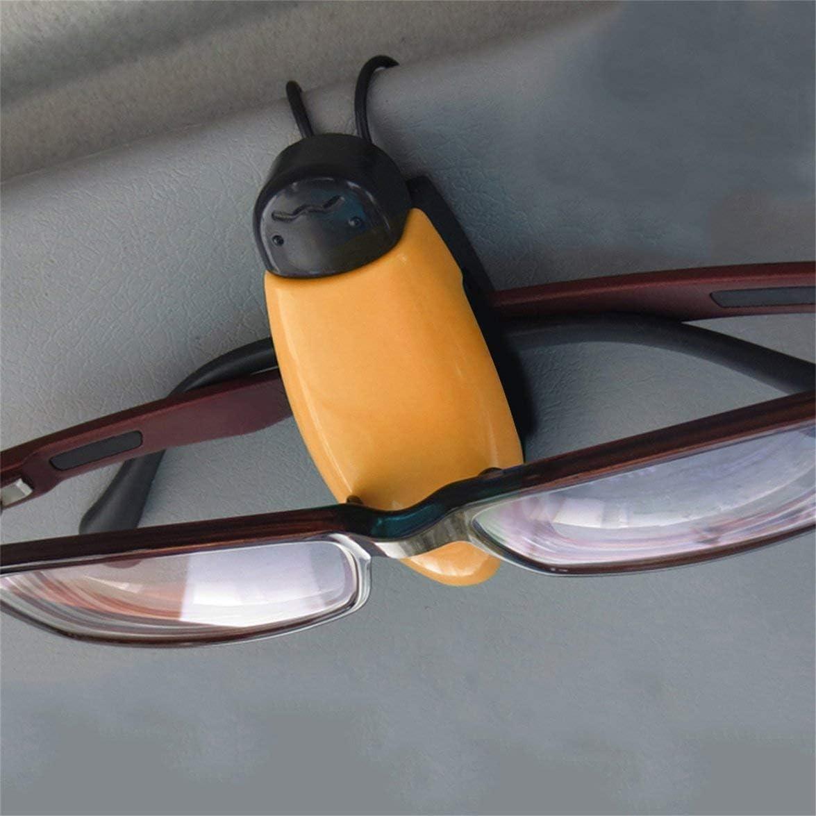 ABS Auto Fahrzeug Sonnenblende Sonnenbrille Brille Brille Halter Karte Ticket Pen Clip Autozubeh/ör