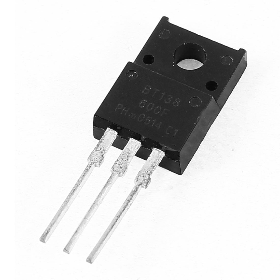 600V 12A High Voltage 3 Pin NPN de transistor de puissance BT138-600F