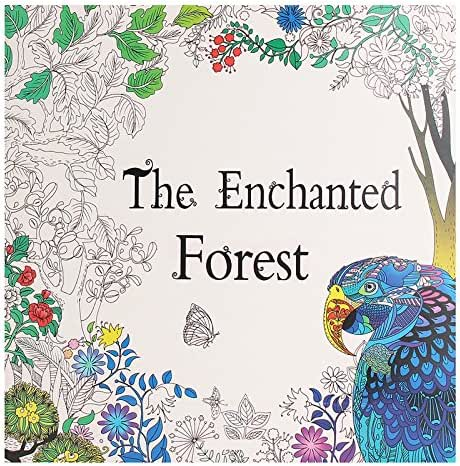 Paper Art & Drawing - Forest Adult English Graffiti Coloring Children Painting Books - Mesmerised Spellbound Account Book Bewitched Wood Volume Captivated Reserve - 1PCs