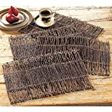 Kalalou KALPH1000 Placemat, One Size, Brown