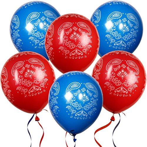 36 Bandana Balloons 12