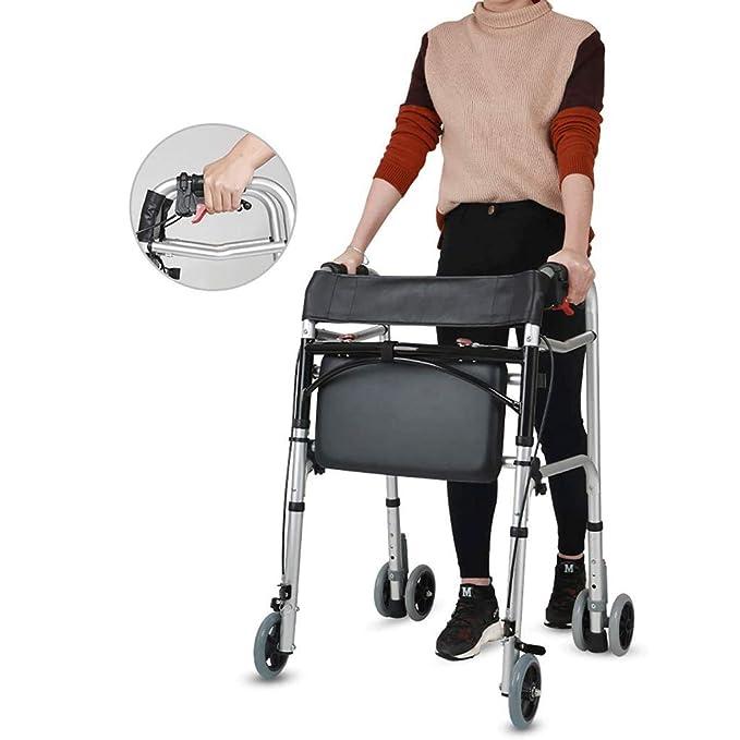 Ftaosh Andador Plegable De Servicio Pesado, Andador Médico ...