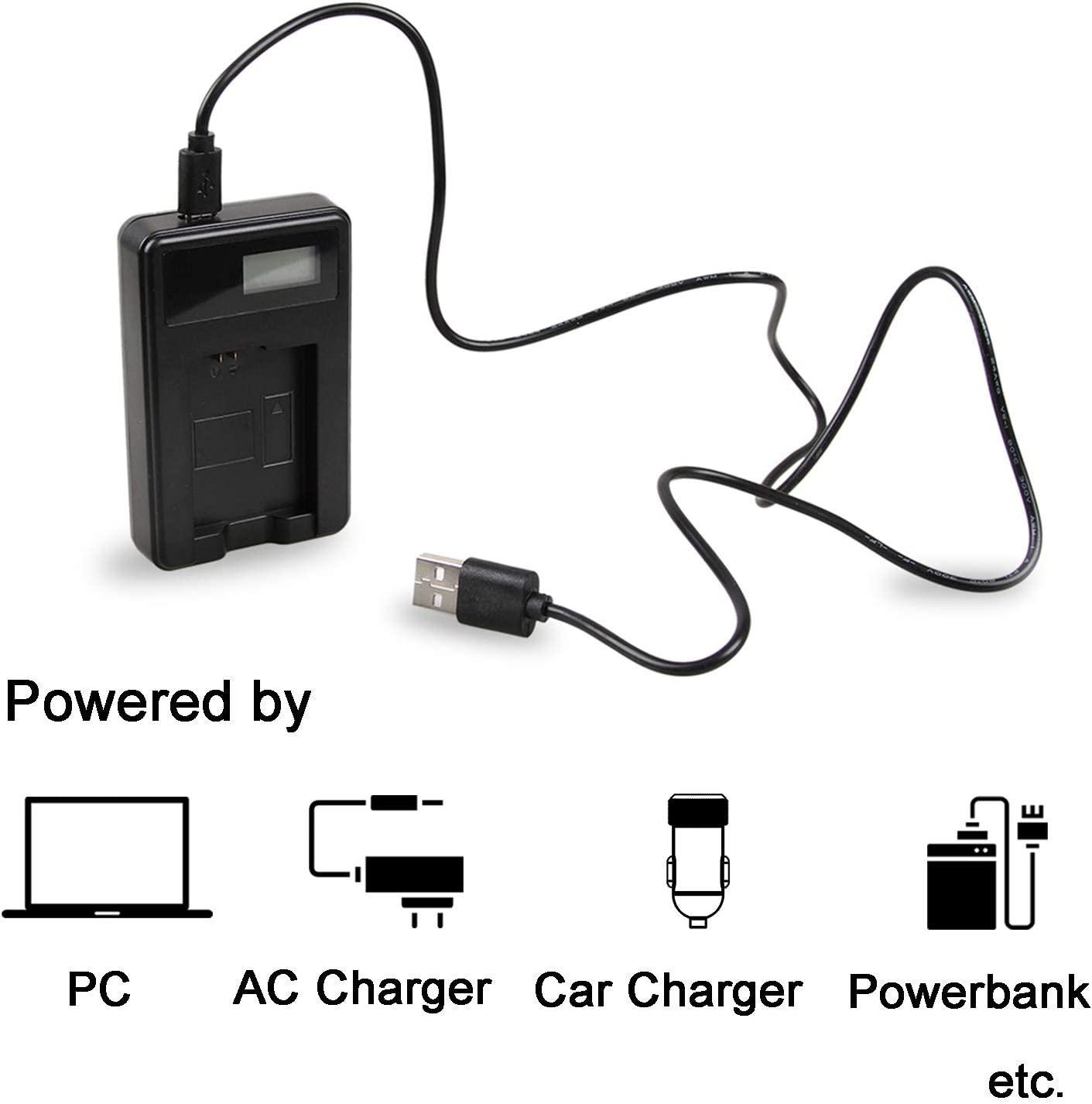 HDR-CX150E HDR-CX155 AC Supply Power Adapter Charger for Sony HDR-CX130 HDR-CX150 HDR-CX130E HDR-CX155E Handycam Camcorder