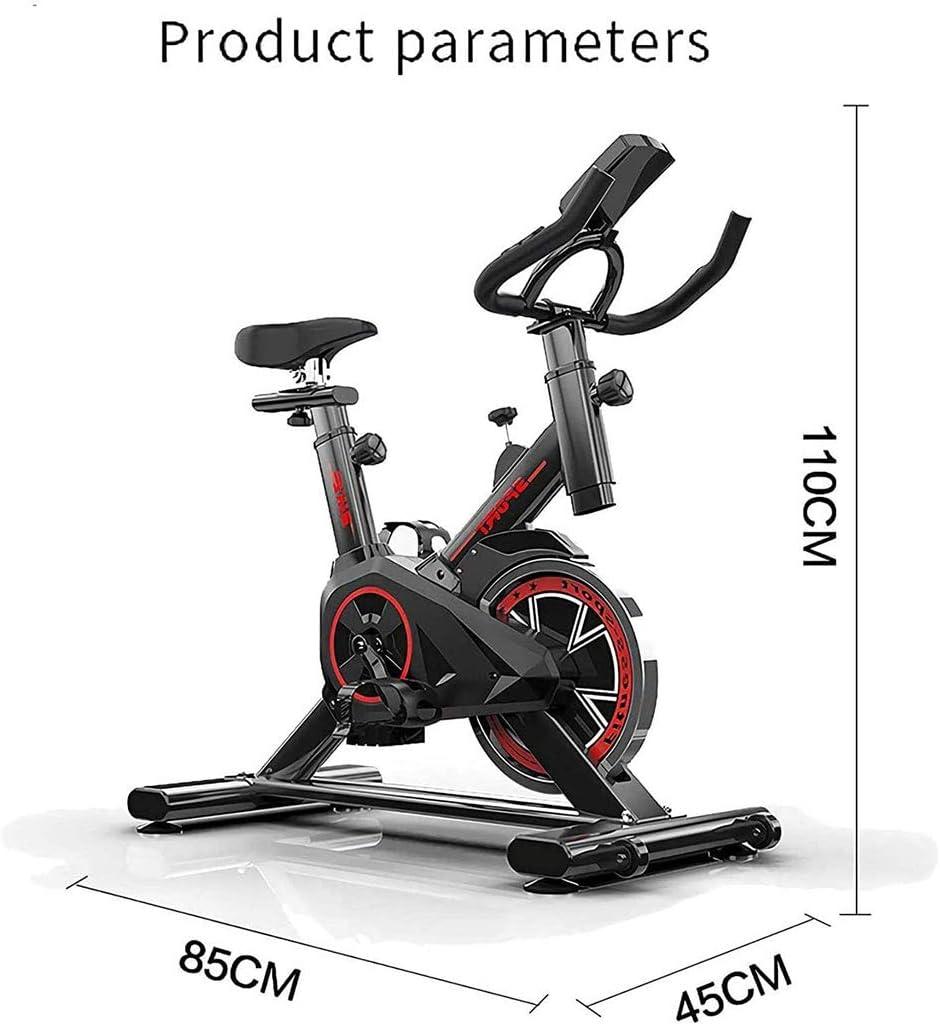 Bicicleta Est/ática Vertical con Pantallas LCD S/úper Silenciosas Resistencia Infinita Equipo De Ejercicios RLF LF Bicicleta Est/ática para El Hogar Bicicleta De Spinning
