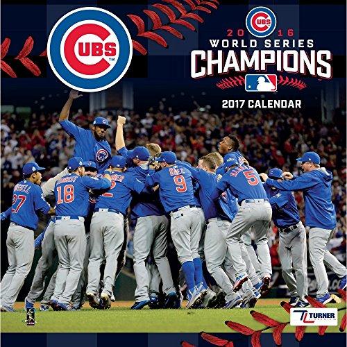Chicago Cubs World Series Wall Calendar
