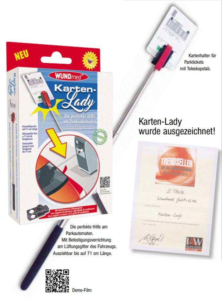 1 St/ück WUNDmed Karten-Lady Parkscheingreifer
