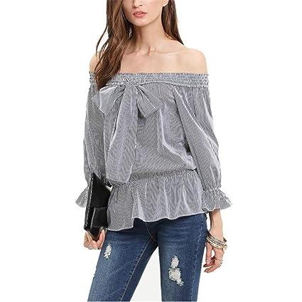 Amazon Com H N 2016 Hn Blouse Off Shoulder Forever 21 Shirts For