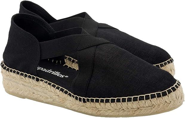 2 Espadrilles - Alpargatas Sandalias Mujer Fabricadas a Mano en España Espadrilles Esparto Zapato para Mujer Tacón Irene: Amazon.es: Zapatos y complementos