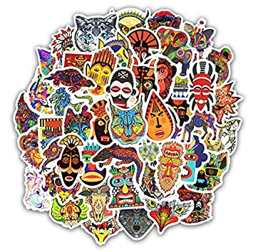 50 Piezas de Graffiti Tatuaje Tribal tótem Pegatinas para ...