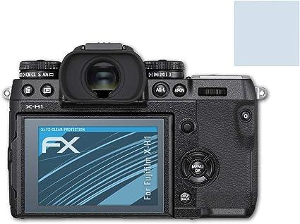 Atfolix Schutzfolie Kompatibel Mit Fujifilm X H1 Folie Kamera