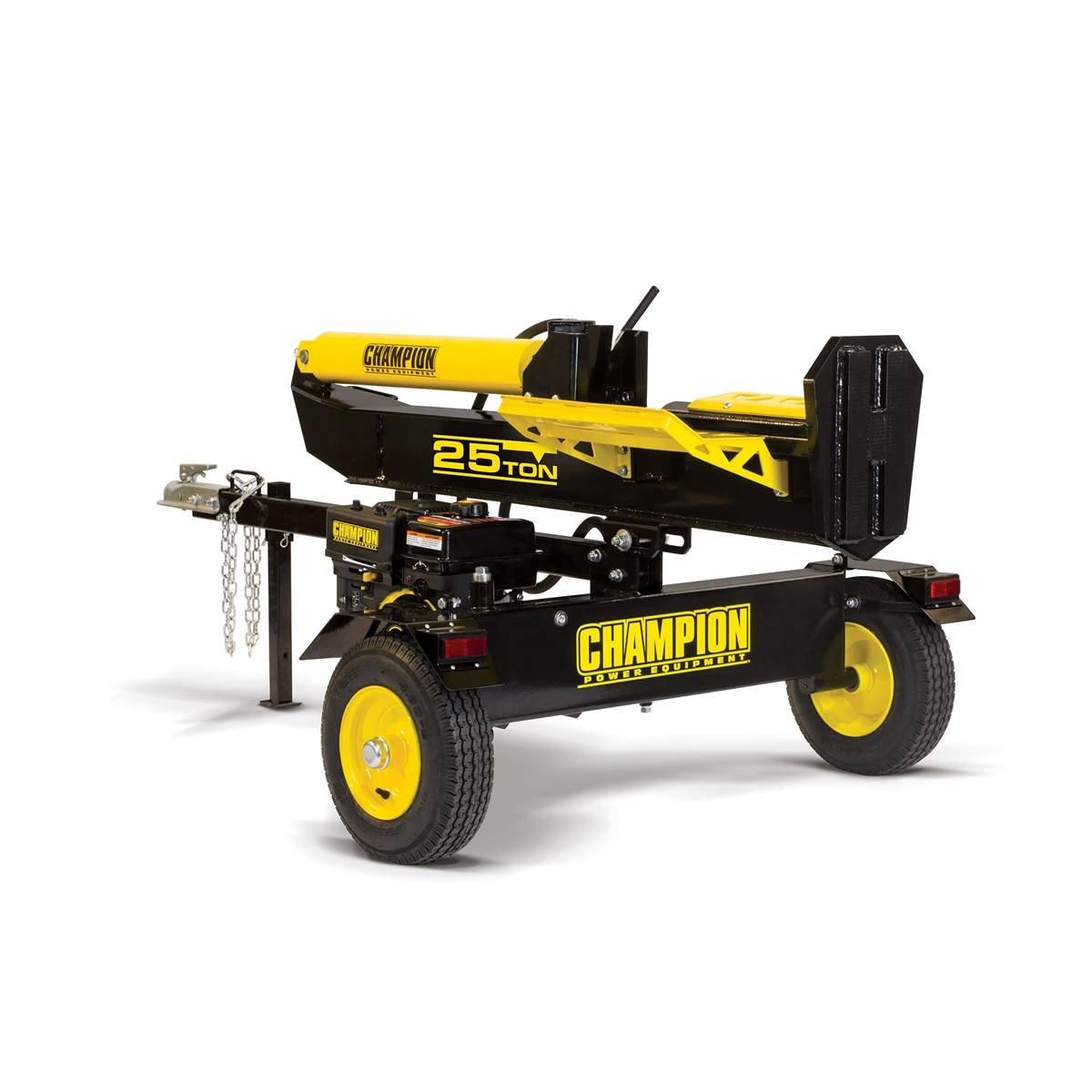 Champion Power Equipment Ton Full Beam Towable Log Splitter (100326 25 Ton)