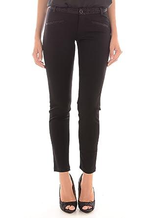 Pantalon Femme Guess Victoria Noir Couleur Noir Taille 29  Amazon.co ... 66d53391375