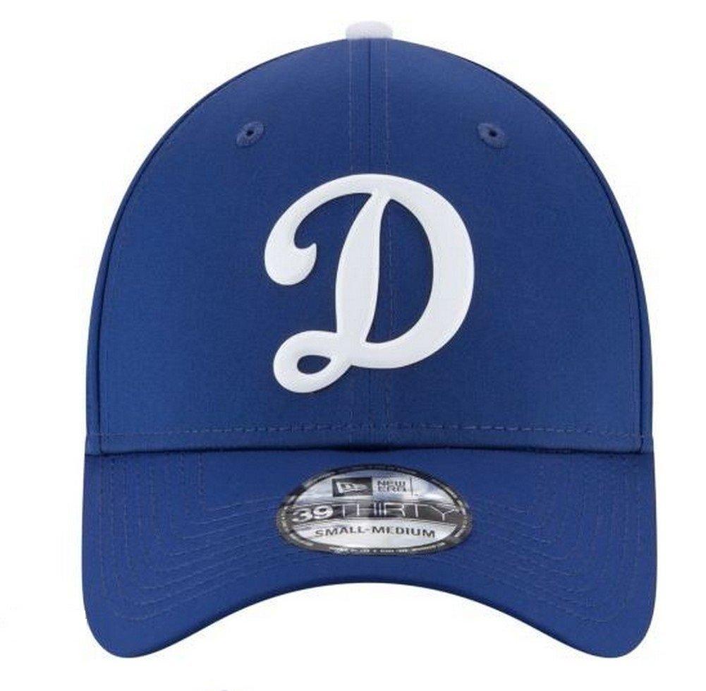 New Era Los Angeles Dodgers 2018 On-Field Prolight Batting Practice 39THIRTY Flex Hat Blue