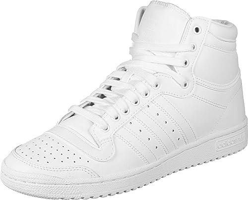 adidas Originals Top Ten Hi Baskets Mode Hommes Blanc