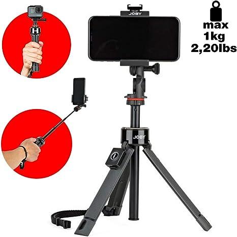 JOBY GripTight Pro Telepod, Trípode/Monopod/Palo Selfie con rótula ...