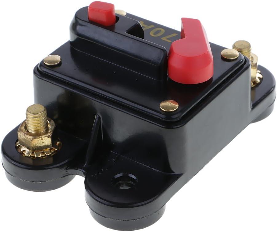 100 Amp Waterproof in-Line Circuit Breaker Stereo//Audio//Car//RV Fuse 12V//24V//32V System Protection