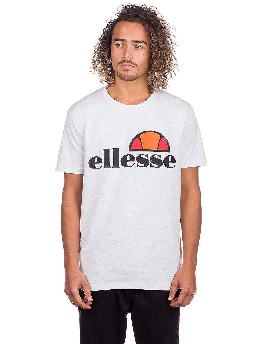 a4284b57 ellesse Men's Prado T-Shirt, White, Large