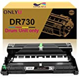ONLYU Compatible Drum Replacement for Brother DR730 DR-730 DR760 DR-760 Drum for Brother HL-L2350DW L2390DW L2395DW HL-L2370DW HL-L2370DWXL DCP-L2550DW MFC-L2710DW L2730DW L2750DW (1 Pack, Black)