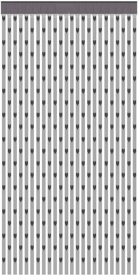 Fiosoji Cortinas de Cortina en Forma de corazón de Amor,Cortinas para Puertas Exteriores Mosquitos,Decoración del hogar,100x200cm