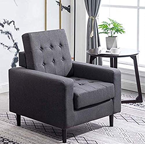 Modern Armchair Accent Chair Foldable Upholstered Chair