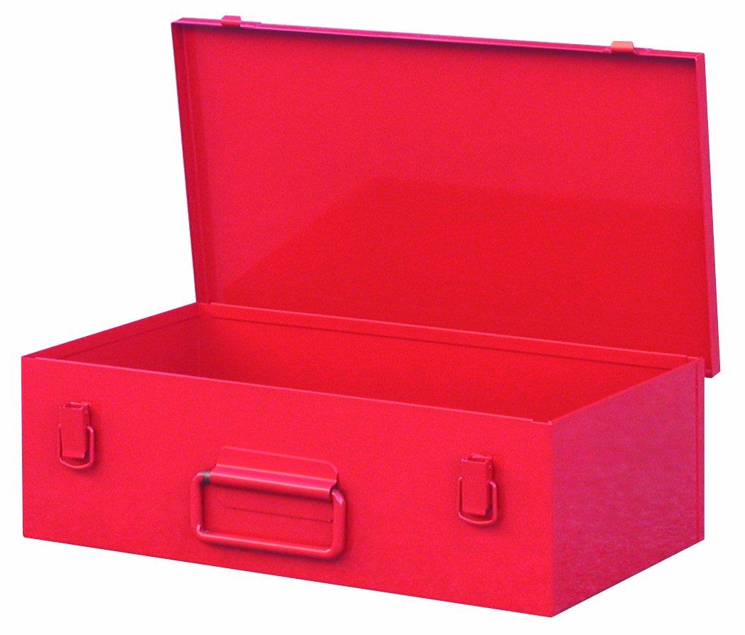 Rouge Outifrance 7401001 Caisse de rangement acier pour perceuse