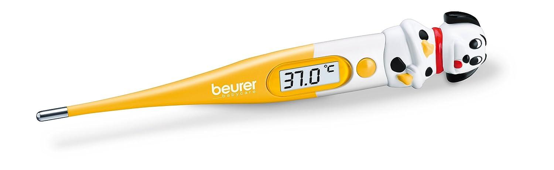 Beurer 950.06 - Termómetro corporal digital, con figura de perro, sensor flexible, color amarillo: Amazon.es: Salud y cuidado personal