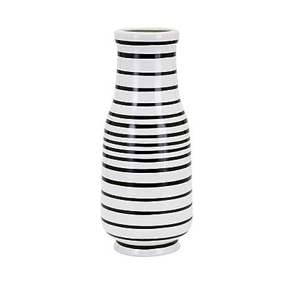Amazon Cc Home Furnishings 16 Black And White Striped Parisa