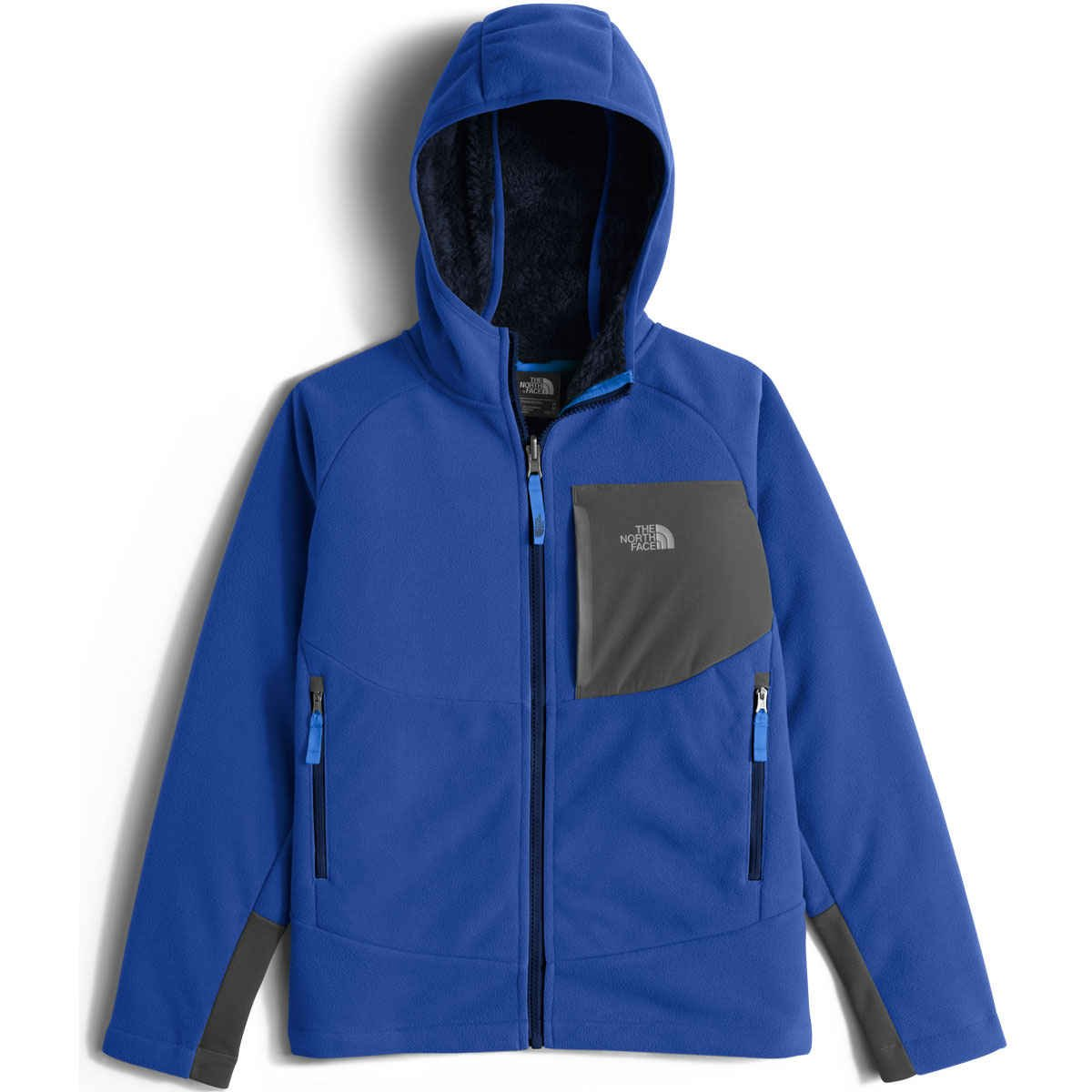 The North Face Chimborazo Kids Hoodie - Small/Honor Blue by The North Face