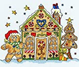Bothy Threads Sew Dinky Gingerbread House Cross Stitch Kit