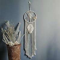 Almabner Atrapasueños, decoración para el hogar, balcón, Tejido