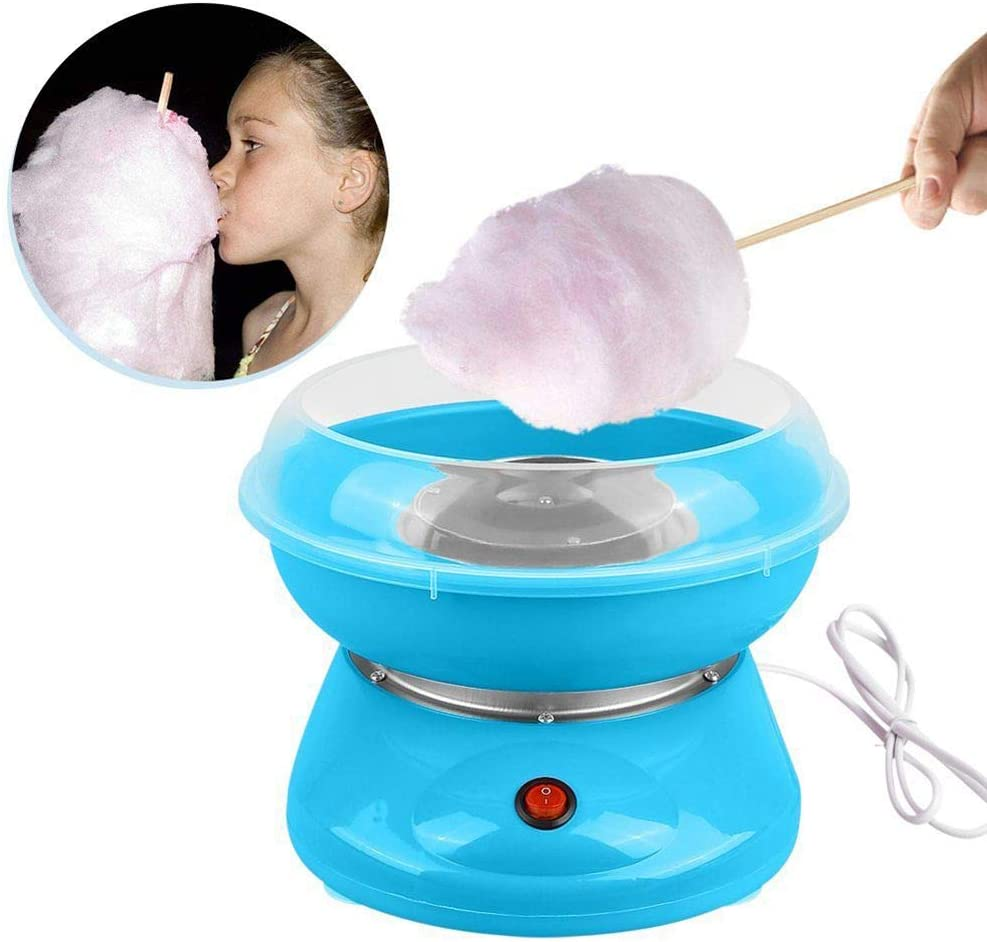 Homemade Sweets for Birthday Parties N//F Cotton Candy Floss Maker,Cotton Candy Machine Sugar Floss
