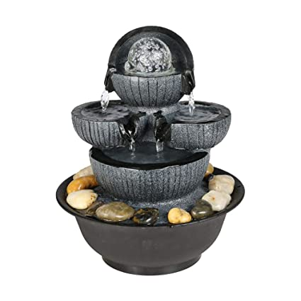 Amazon Com Two Streams Tabletop Fountain With Rolling Ball 10 3 5