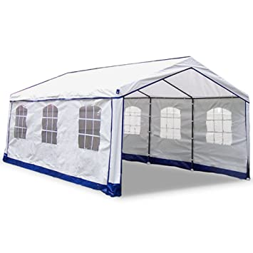 Outdoor Party Tents Canopy Tents Lawn Party Festival Booth  sc 1 st  Amazon.com : outdoor booth tent - memphite.com